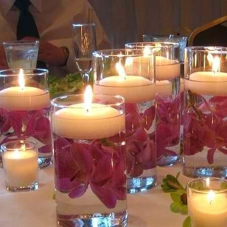Вдохновение: декоры из морских камешков и свечей