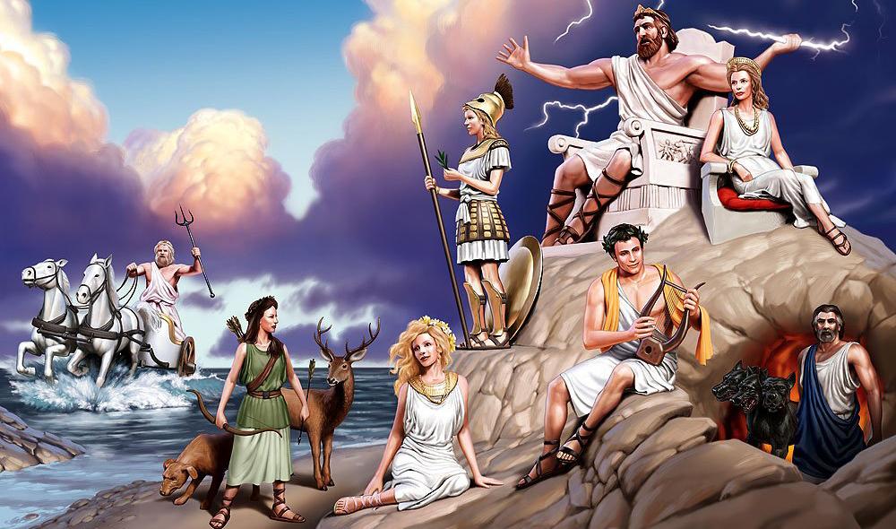 Древние боги, живущие в нас