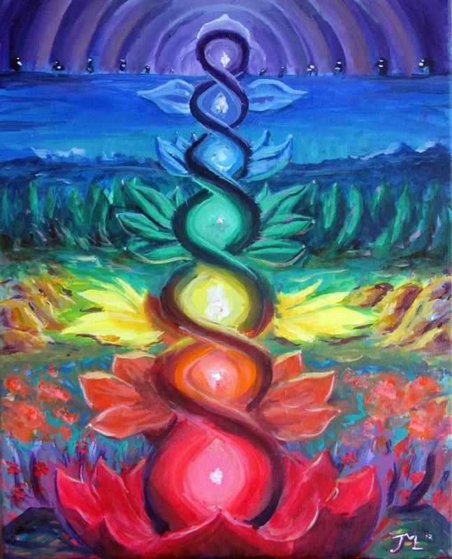 Секреты женской биолокации. 7.Духовное тело (начало)
