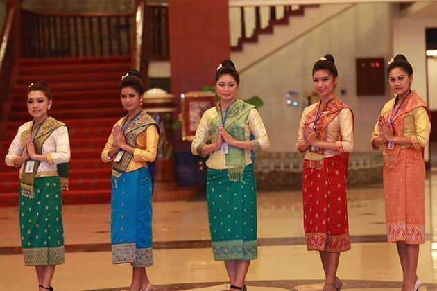 Красавицы азиатской культуры