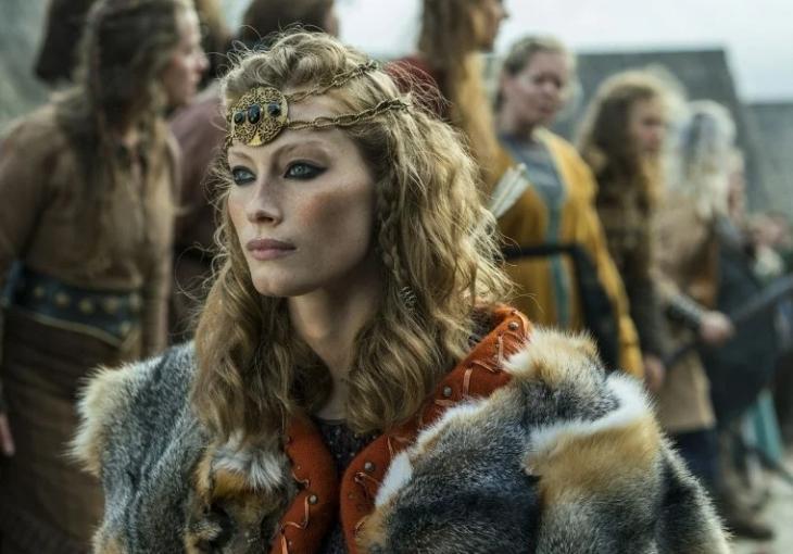 Принцесса Аслауг, умница и красавица, скандинавская героиня