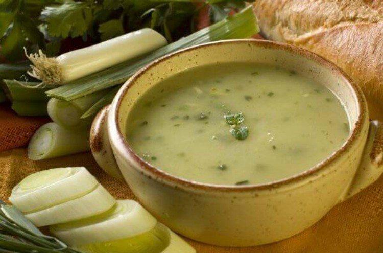 Суп от отеков и лишних солей